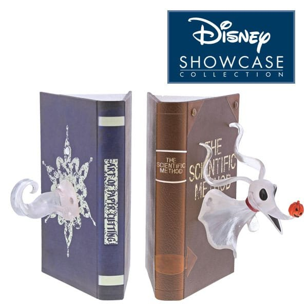 Spook-tacular Zero Book Ends to celebrate 25th anniversary of  Nightmare Before Christmas in Enesco's Disney Showcase collection