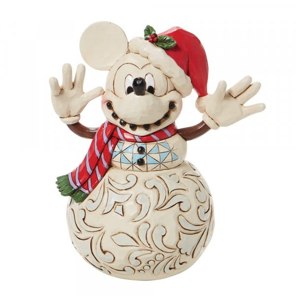Disney Traditions - Mickey Mouse Snowman