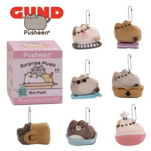 Pusheen Surprise Plush Mystery Box Series 3 From GUND