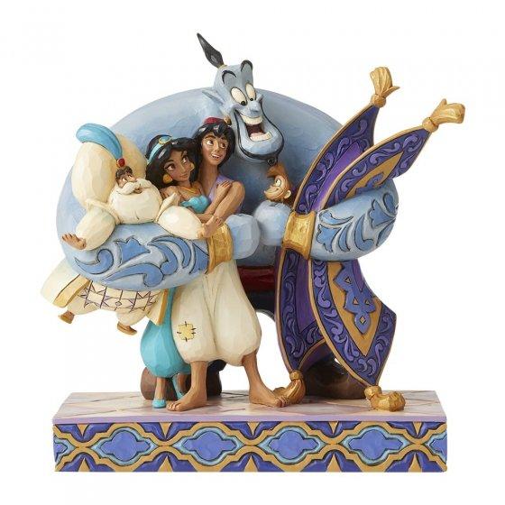 Group Hug! (Aladdin Figurine)