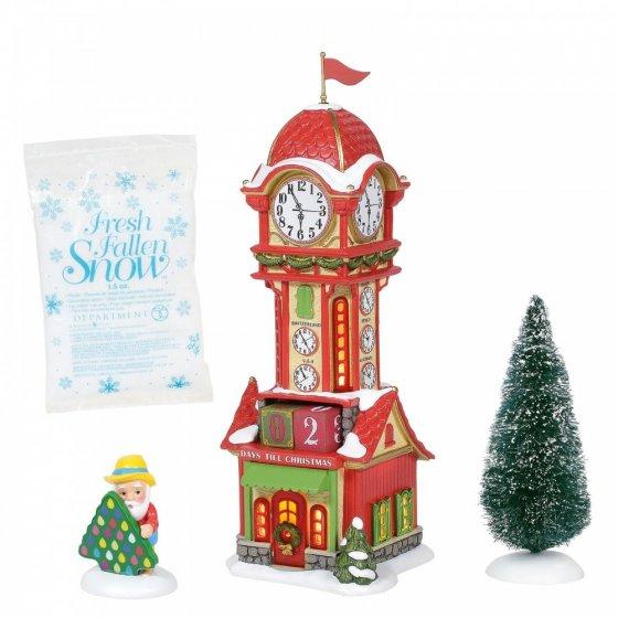Christmas Countdown Tower - UK