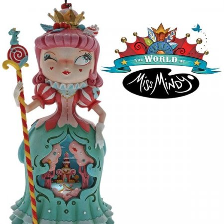 Good enough to eat! Enesco adds a new Miss Mindy collection to its portfolio for June 2018 — fronted by the delicious Candy Queen figurine