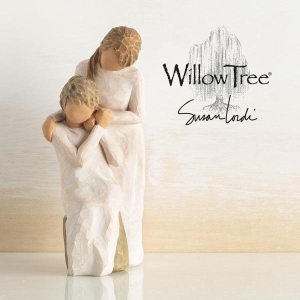 Enesco announces new Willow Tree® figurine, showing the bond between mother and daughter, as care-giving roles are reversed