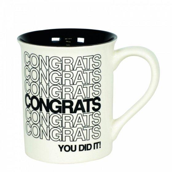 Congrats Type Mug