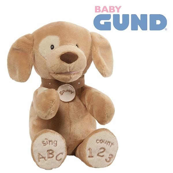 Learn Your ABC and 123…with GUND®'s New Spunky™ Dog