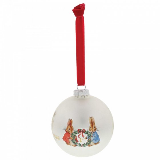 Peter Rabbit My First Christmas Bauble