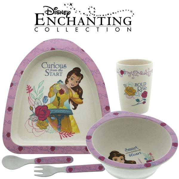 A tasty treat for Disney fans as Enesco unveils new Belle Organic Dinner Set