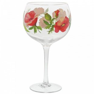 Poppies Copa Gin Glass