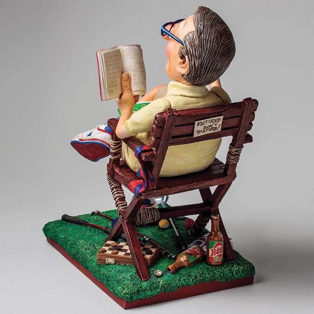Toys For Retirees : The retiree enesco