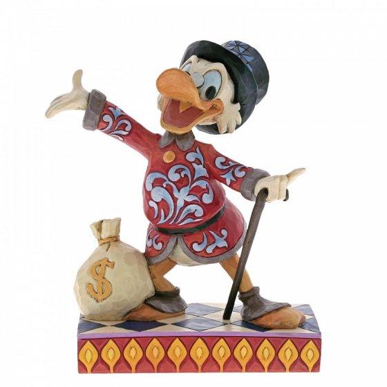 Treasure Seeking Tycoon (Scrooge Figurine)