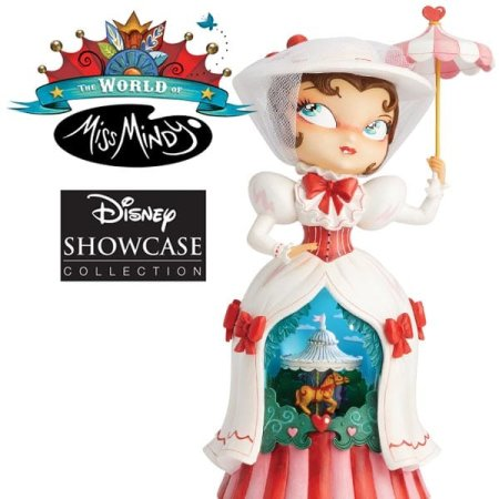 Practically perfect in every way! Enesco introduces new Mary Poppins figurines in the The World of Miss Mindy Presents Disney Collection