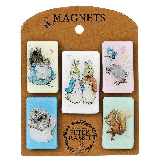 Beatrix Potter Characters Magnet Set