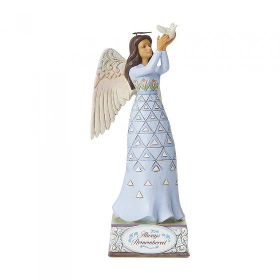 Always Remembered - Bereavement Angel Figurine- Heartwood Cr