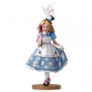 Alice in Wonderland Masquerade Figurine