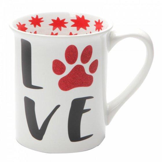Love Glitter Mug