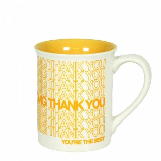 Thank You Type Mug