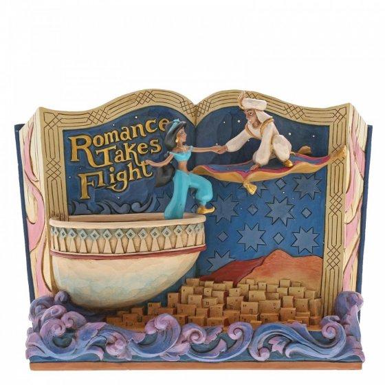 Romance Takes Flight (Storybook Aladdin Figurine)