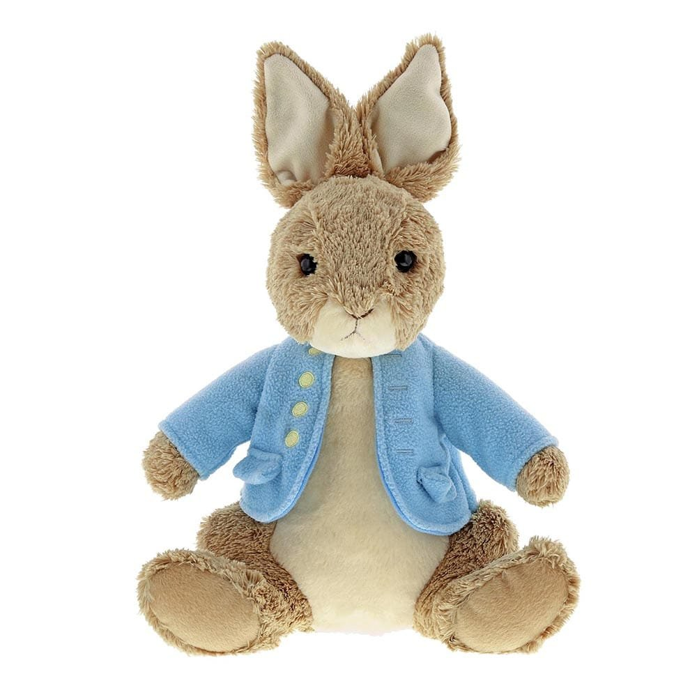 Brand-new extra large Peter Rabbit plush is hopping into stock on March 8th