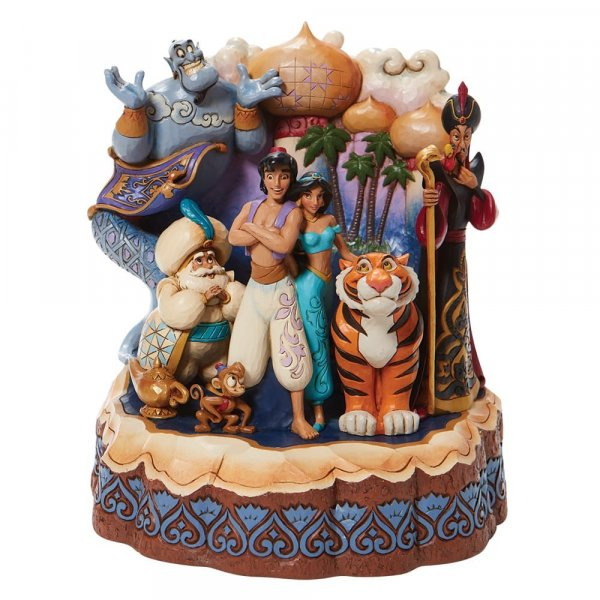 Disney Traditions - Aladdin Carved by Heart Figurine