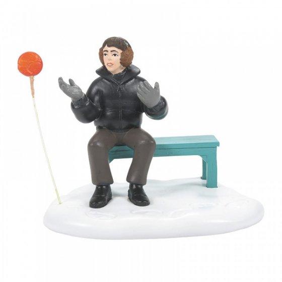 Neville and Runaway Lollipop Figurine - Harry Potter Village