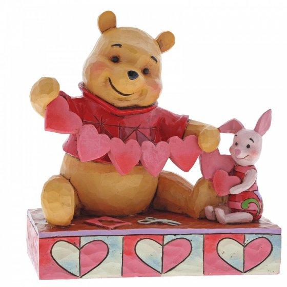 Handmade Valentines (Pooh and Piglet Figurine)