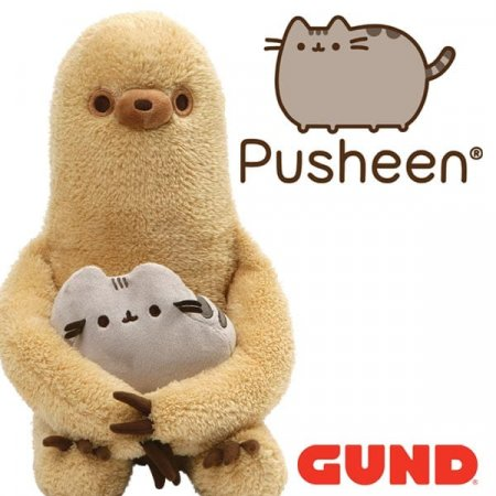 ENESCO AND GUND UNVEIL NEW TWO-IN-ONE SLOTH PLUSH PLAY PAL FOR PUSHEEN™