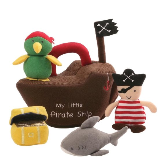 Pirate Ship Play Set (pack 2)