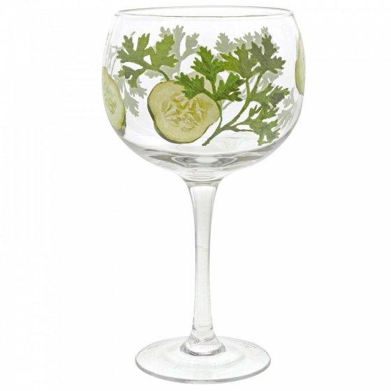 Cucumber Copa Glass