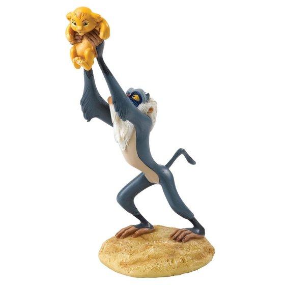 A King is Born (Rafiki and Simba Figurine)