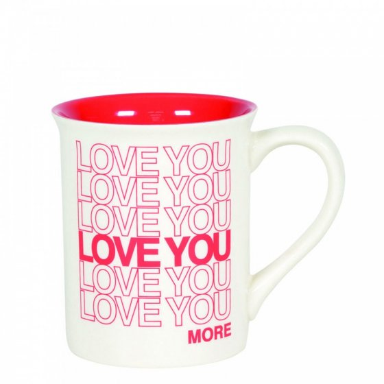 Love You Type Mug