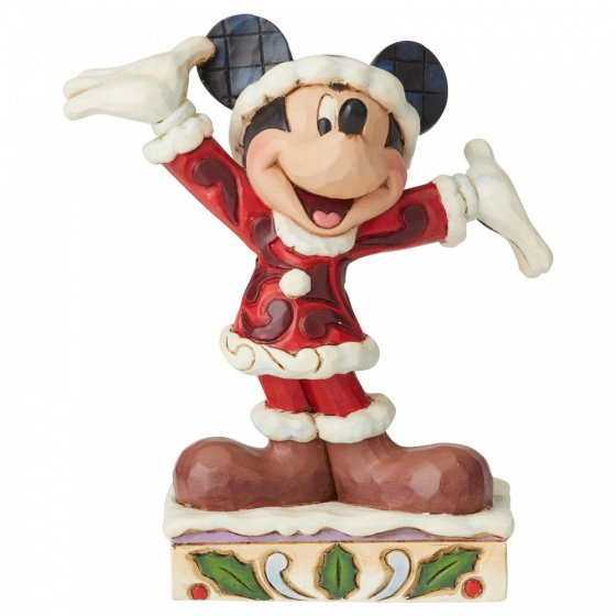 Tis a Splendid Season (Mickey Mouse Figurine)