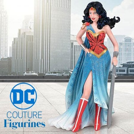 New Wonder Woman Figurine Launches DC Haute Couture Collection for Enesco