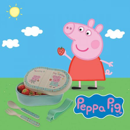 OINKtastic! Enesco launches a new range of Peppa Pig themed products  to make little one's mealtimes more fun