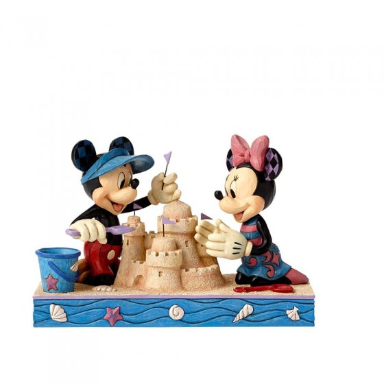 Seaside Sweethearts - Mickey & Minnie Figurine