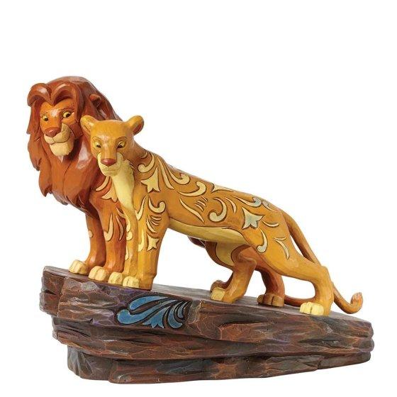 Love at Pride Rock (Simba and Nala Figurine)