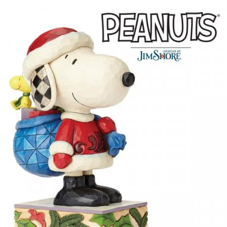 Spreading Christmas cheer with three new Snoopy figurines this festive season for Peanuts® by Jim Shore collection