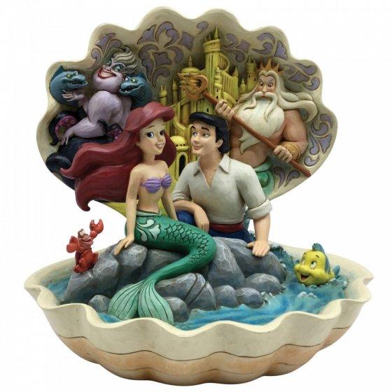 Seashell Scenario (The Little Mermaid Shell Scene Figurine)