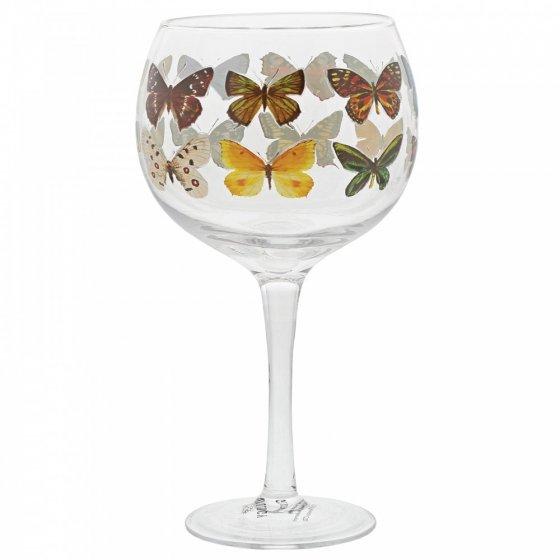 Butterflies Copa Gin Glass