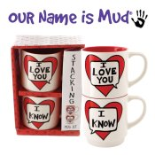 New Stacking Mug Sets from Our Name is Mud