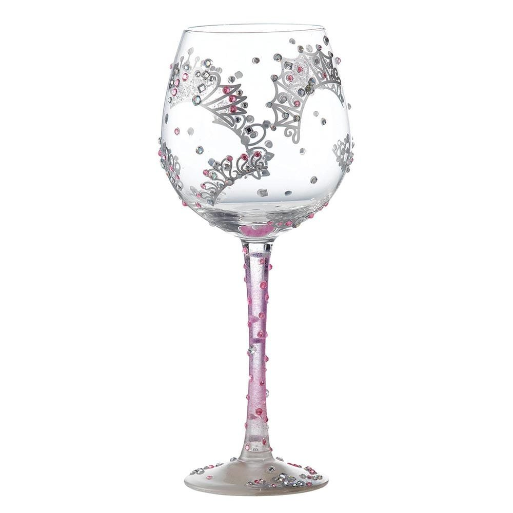 Superbling Princess Extra Large Wine Glass Enesco