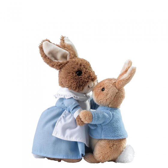 Mrs. Rabbit & Peter Soft Toy (Set 2)