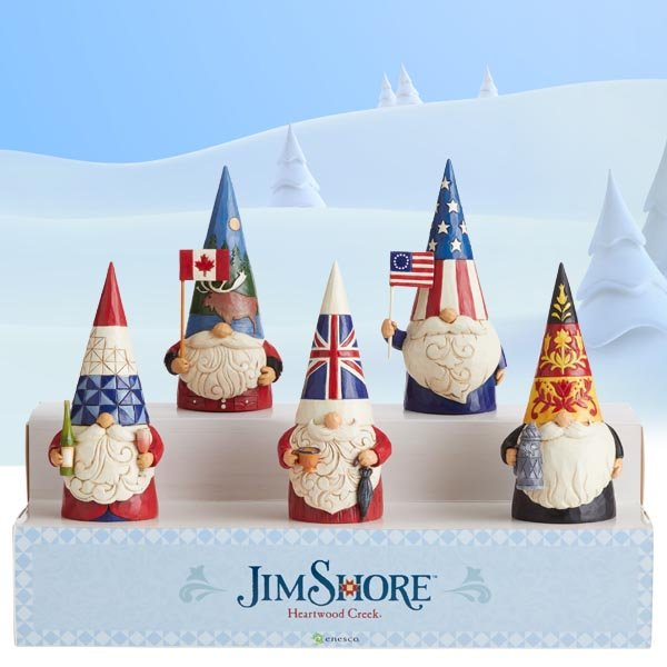 Enesco adds new gnomes' collection to  Heartwood Creek by Jim Shore collection