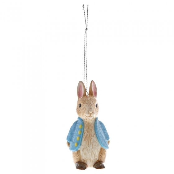 Peter Rabbit Sculpted Hanging Ornament