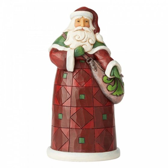 Be A Blessing, Ease A Burden (Santa with Satchel Figurine)