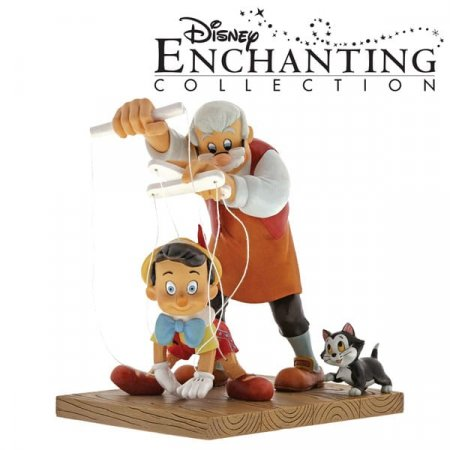 Enesco unveils new Pinocchio figurine in Enchanting Disney collection as chosen by Facebook fans