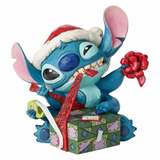 Bad Wrap (Stitch with Santa Hat Figurine)