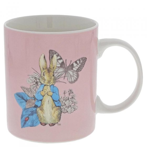 Peter Rabbit Garden Party Mug (Pink)