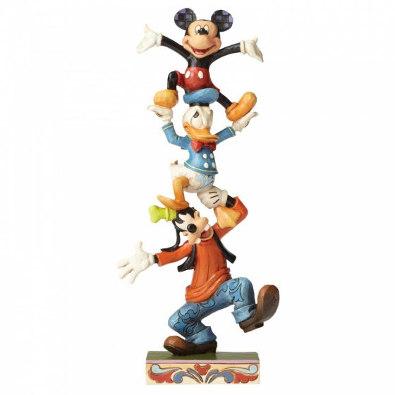 Teetering Tower (Goofy, Donald Duck and Mickey Mouse Figurin