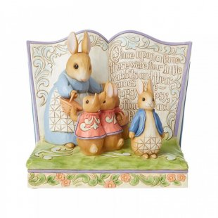 """Once Upon a Time There Were Four Little Rabbits"" Storybook"