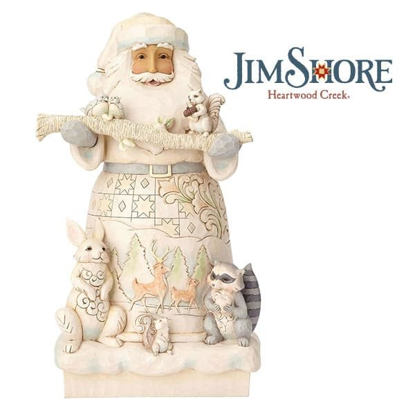 Hand-crafted scenes featuring woodland friends Enesco launches new items in Heartwood Creek Christmas collection